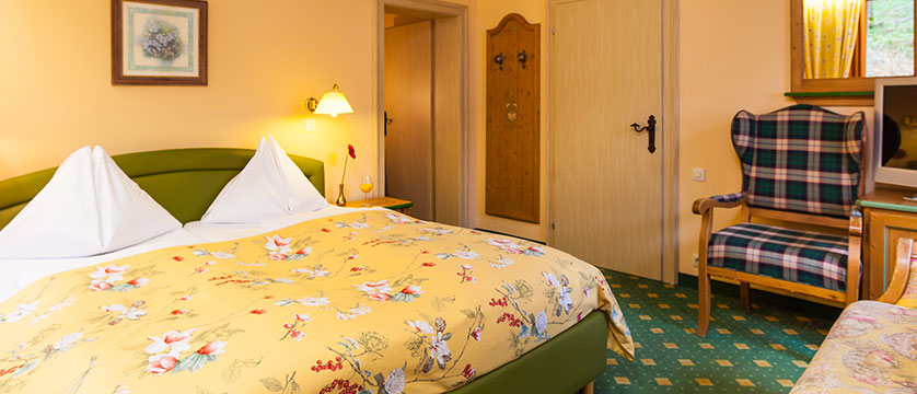 Landhotel St. Georg, Zell am See, Austria - double bedroom example 2 interior.jpg